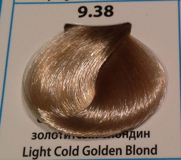 9.38  Светлый холодный золотистый блондин 60 мл CONCEPT SOFT TOUCH