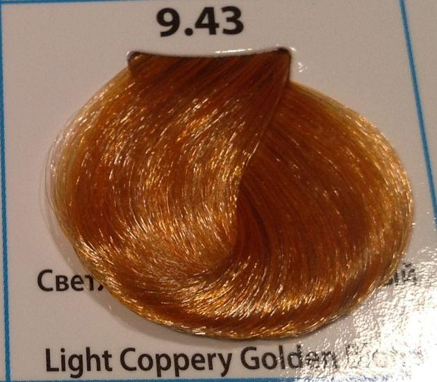 9.43 Светлый медно- золотистый блондин 60 мл CONCEPT SOFT TOUCH