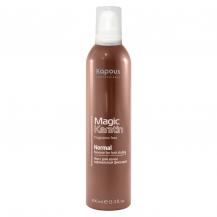 Мусс для укладки волос нормальной фиксации с кератином серии Magic keratin 400 мл