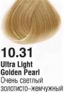 10.31 Очень светлый золотисто-жемчужный  60 мл PERMANENT color cream CONCEPT