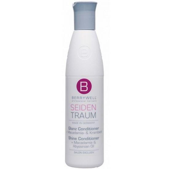 Berrywell Кондиционер для шелковистых блестящих волос с маслом макадамии 251 мл