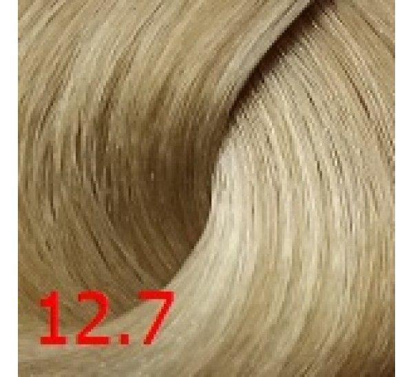 12.7 Экстрасветлый бежевый 60 мл PERMANENT color cream CONCEPT
