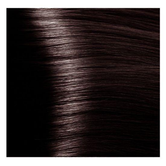 """4.4 коричневый медный крем-краска для волос с кератином """"Magic Keratin"""" 100 мл"""