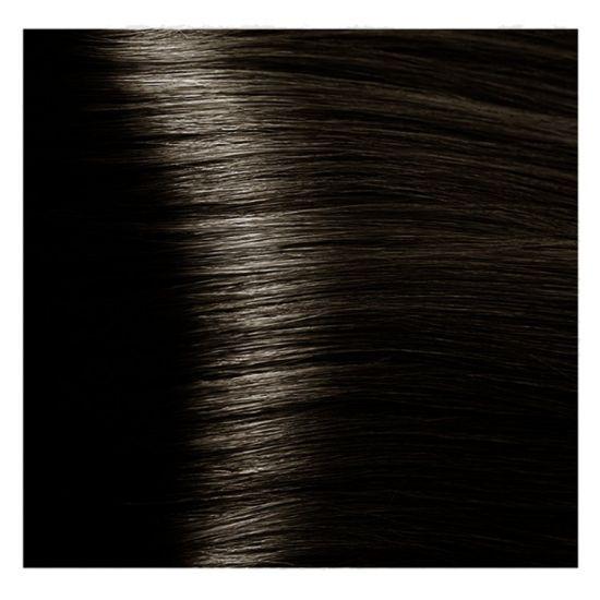 Краска для волос 4.1 S пепельно-коричневый экст.женьш и рис. протеинами 100 мл