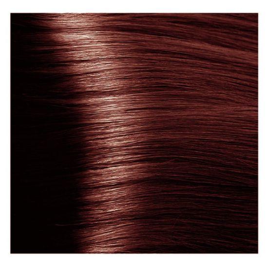 Краска для волос 6.5 S темный махагоновый блонд экст.женьш и рис. протеинами 100 мл