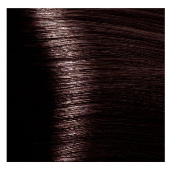 """5.4 светлый коричневый медный крем-краска для волос с кератином """"Magic Keratin"""" 100 мл"""