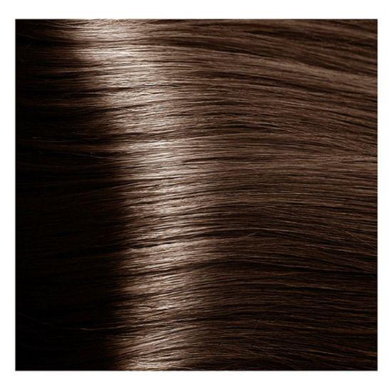 """6.07 темный блондин натуральный холодный крем-краска для волос с кератином """"Magic Keratin"""" 100 мл"""