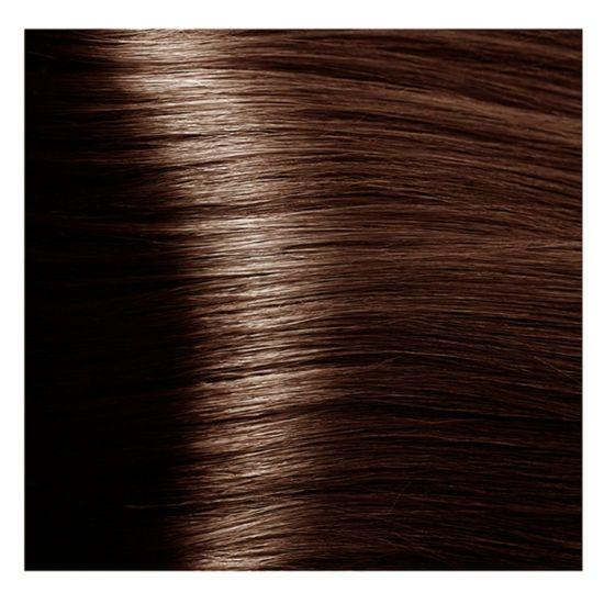 """6.35 темный блондин каштановый золотистый крем-краска для волос с кератином """"Magic Keratin"""" 100 мл"""