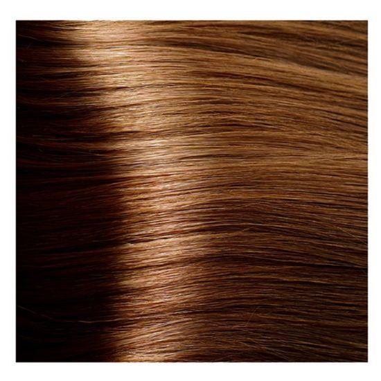 """6.41 тёмный блондин медный матовый крем-краска для волос с кератином """"Magic Keratin"""" 100 мл"""