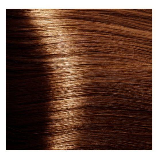 """7.43 блондин медный золотистый крем-краска для волос с кератином """"Magic Keratin"""" 100 мл"""