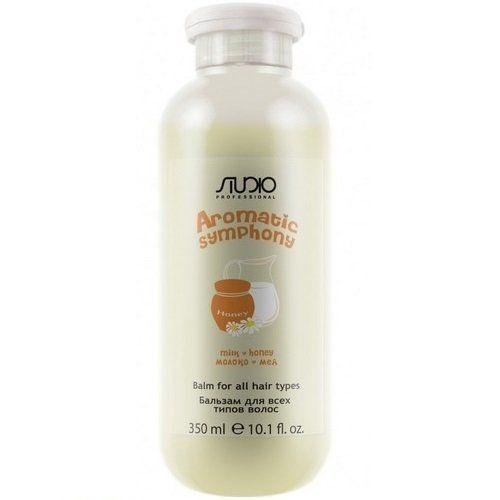 """Шампунь 350 мл """"Молоко и мед"""" для всех типов волос серии """"Aromatic Symphony"""""""