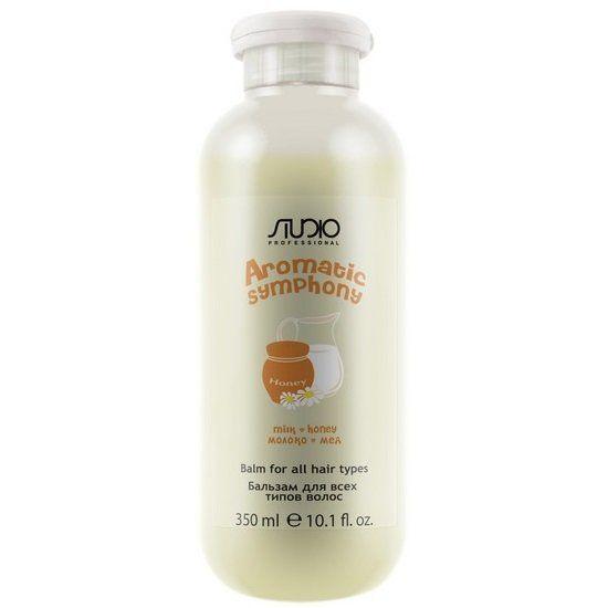 """Бальзам 350 мл """"Молоко и мед"""" для всех типов волос серии """"Aromatic Symphony"""""""