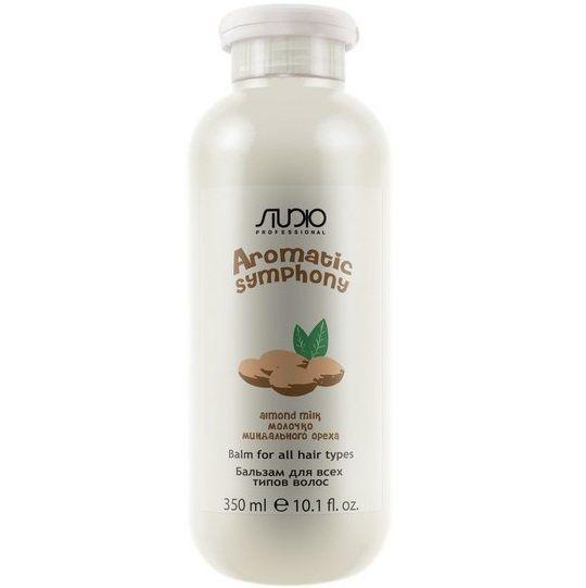 """Бальзам 350 мл """"Молочко миндального ореха"""" для всех типов волос серии """"Aromatic Symphony"""""""