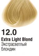 12.0 Экстрасветлый блондин 60 мл PERMANENT color cream CONCEPT