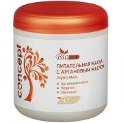 Питательная маска для волос с Аргановым маслом 500 мл CONCEPT BioTech Argana