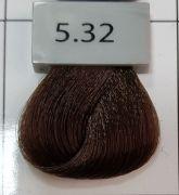 Berrywell 5.32 Светлый коричневый бежевый. Краска для волос