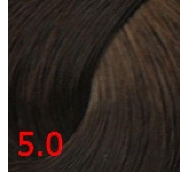 5.0 Темно-русый  60 мл PERMANENT color cream CONCEPT