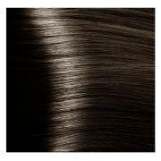 """5.07 светлый коричневый натуральный холодный крем-краска для волос с кератином """"Magic Keratin"""" 100 мл"""