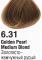 6.31 Золотисто-жемчужный русый 60 мл PERMANENT color cream CONCEPT