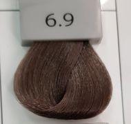 Berrywell 6.9 Темный русый светло-пепельный сандрэ. Краска для волос