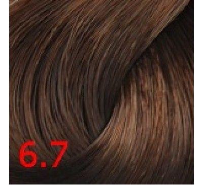 6.7 Шоколад 60 мл PERMANENT color cream CONCEPT