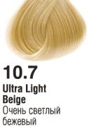 10.7 Очень светлый бежевый 60 мл PERMANENT color cream CONCEPT