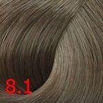 8.1 Пепельный блондин 60 мл PERMANENT color cream CONCEPT