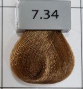 Berrywell 7.34 Средний русый золотисто-медный 61 мл. Краска для волос