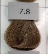 Berrywell 7.8 Средний русый пепельный 61 мл. Краска для волос