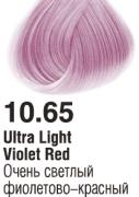 10.65 Очень светлый фиолетово-красный 60 мл PERMANENT color cream CONCEPT