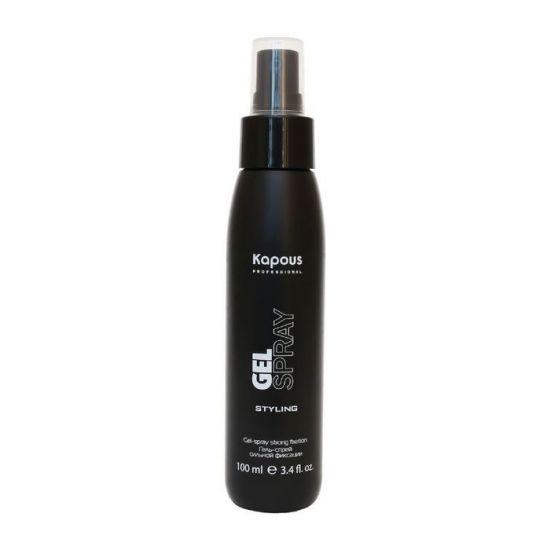 Гель-спрей для волос сильной фиксации 100 мл KAPOUS