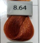 Berrywell 8.64 Светлый русый красно-медный. Краска для волос