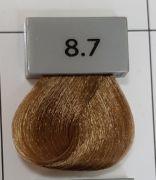 Berrywell 8.7 Светлый русый шоколадный 61 мл. Краска для волос