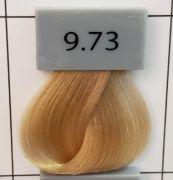 Berrywell 9.73 Светлый блондин шоколадно-золотистый. Краска для волос