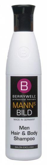 Berrywell Мужской шампунь для волос и тела 251 мл