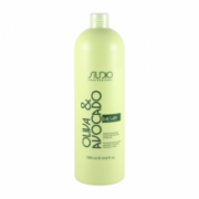 Увлажняющий бальзам для волос с маслами авокадо и оливы 1 л. линии Studio Professional KAPOUS