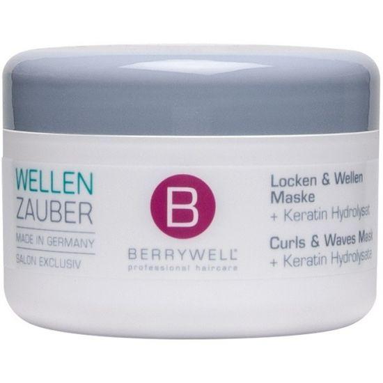 Berrywell Маска для эластичности и упругости естественно завитых и волнистых волос 201 мл
