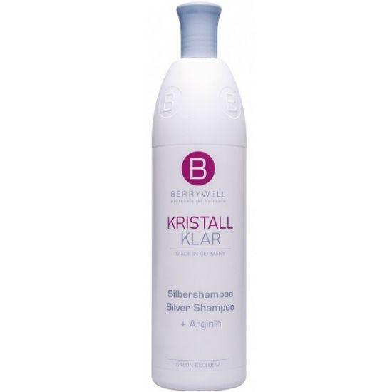 Berrywell Серебряный шампунь без парабенов для прохладного и чистого оттенка блонд 1001 мл