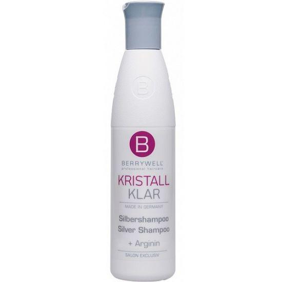 Berrywell Серебряный шампунь без парабенов для прохладного и чистого оттенка блонд 251 мл