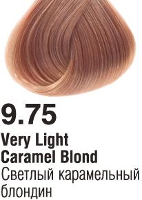 9.75 Светлый карамельный блондин 60 мл PERMANENT color cream CONCEPT