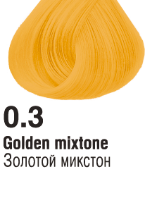 03 Золотой  микстон 60 мл  PERMANENT CONCEPT