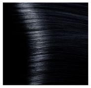 """1.1 иссиня-черный крем-краска для волос с кератином """"Magic Keratin"""" 100 мл"""