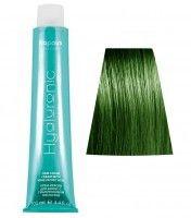 073 HY усилитель зеленый  крем-краска для волос с Гиалуроновой кислотой 100мл