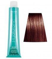 5.5HY Светлый коричневый махагоновый крем-краска для волос с Гиалуроновой кислотой 100мл