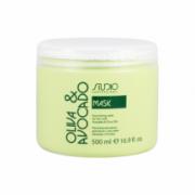 Питательная маска для волос с маслами авокадо и оливы 500 мл. линии Studio Professional KAPOUS