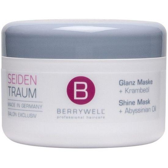 Berrywell Маска для шелковистых блестящих волос с маслом Крамбе Shine Mask 201 мл