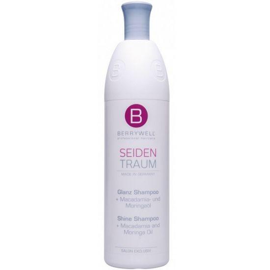 Berrywell Шампунь для шелковистых блестящих волос с маслом макадамии 1001 мл
