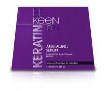 Кератиновая сыворотка для усталых волос 7*10 мл KEEN