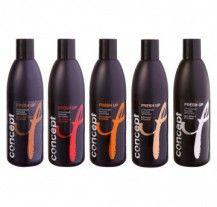 Оттеночный бальзам для волос для черных оттенков 300 мл Fresh Up CONCEPT